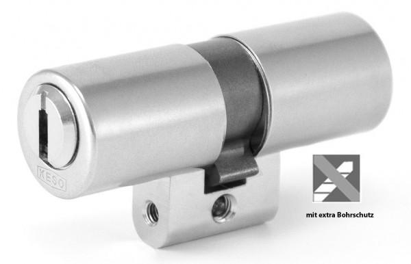 KESO 4000 Omega Doppelzylinder mit Bohrschutz | Schweizer Rundprofil