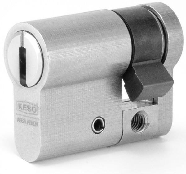 KESO 4000 Omega Halbzylinder Chrom-Nickelstahl 41.214
